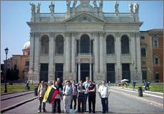 Prie Laterano bazilikos Romoje